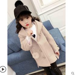 Брэнд загварын охидын пальто