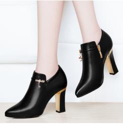 Эмэгтэй гутал Арьсан гутал Өндөр өсгийт Туфль өсги